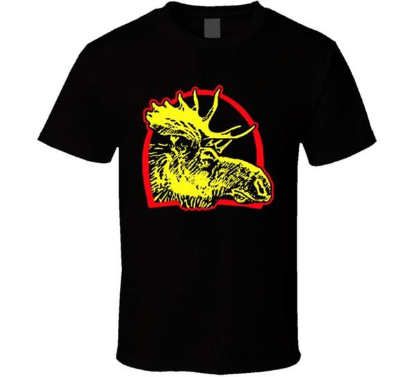 Moosehead пиво футболка мужская высокое качество пользовательских печатных топы Hipster тройники лето хлопок футболки мода Письмо печати