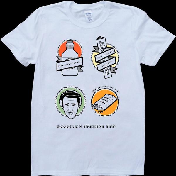 Alan Rebhuhn Weiß, nach Maß T-Shirt
