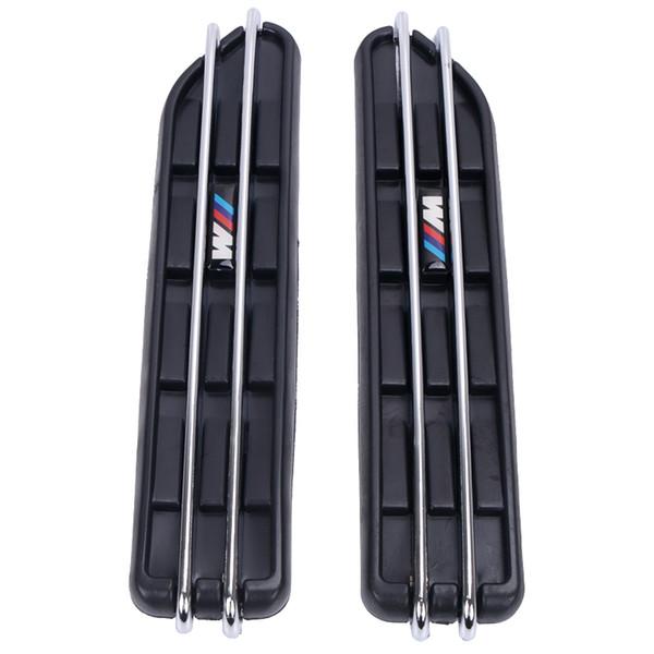 2 stücke Luftstrom Kotflügel Side Vent Mesh Aufkleber Lochgitter Für BMW E60 E61 E39 E34 M3 E46 M5 E90 C / 5