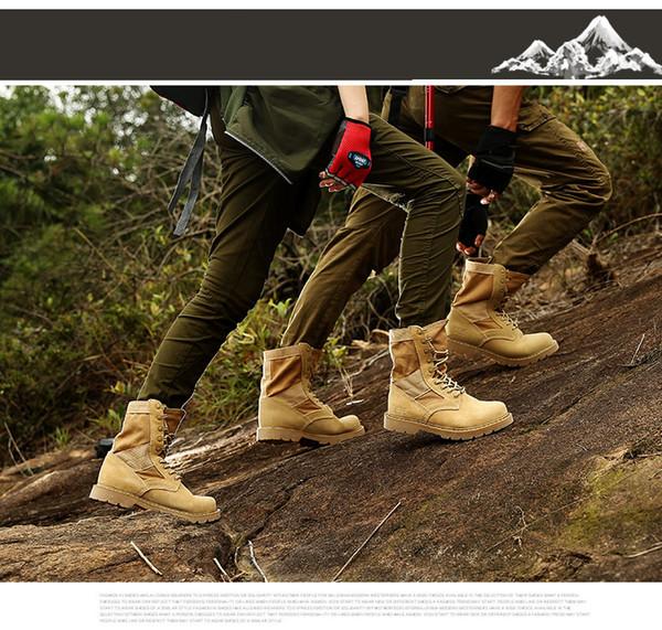 2 pares muito !!! 2018 Hotesale Marca Novos Homens Tênis De Caminhada, Moda Feminina Botas Militares, Modelos De Casal Martin Botas, Sapatos De Viagem Baratos