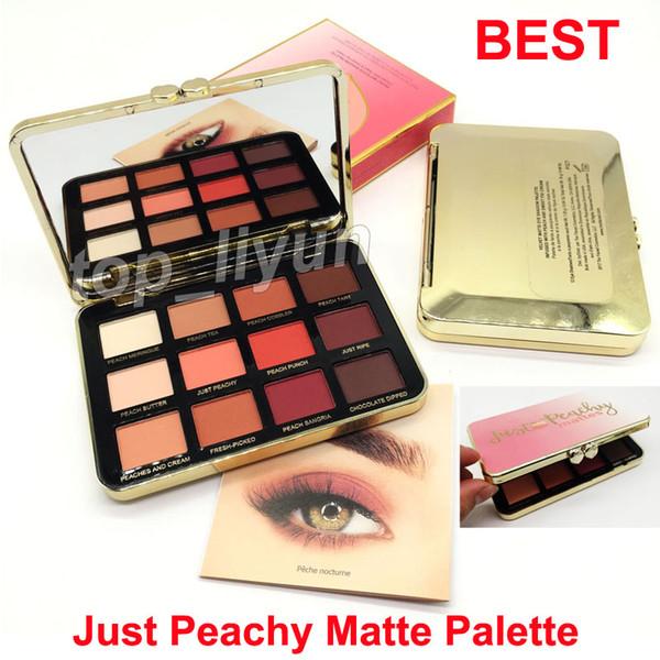 In tock makeup 12 color eye hadow velvet matte palette ju t peachy matte eye hadow palette dhl hipping