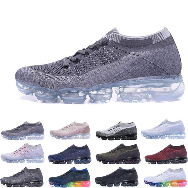 Wholesale best quality OG white black Hot Sale online Women Men running Shoes sports sneakers Discount 2018 Outdoor trainers