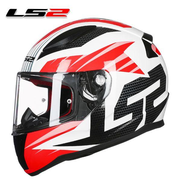 Ls2 Ff353 High Quality Full Face Motorcycle Helmet Man Woman Racing Motorbike Helmets Abs Reinforced Shell Rapid Moto Helmets Retro Motorcycle Helmets