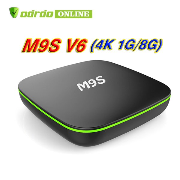 Android 7.1 Tv Box M9S V6 4K Quad Core 1GB 8GB Rockchip RK3229 Streaming Media Player Smart Iptv Box