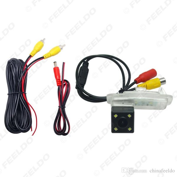 Car CCD Backup Rear View Camera With LED For Honda Crider 2016 Reversing Parking Camera Four lights night vision#2841