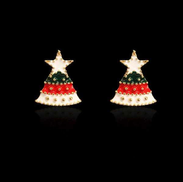 Imagenes Animadas Arboles Navidad.Compre Bonito Arbol De Navidad De Dibujos Animados Para Regalo Pendientes Para Mujer Novia Regalos A 14 88 Del Ositar Dhgate Com