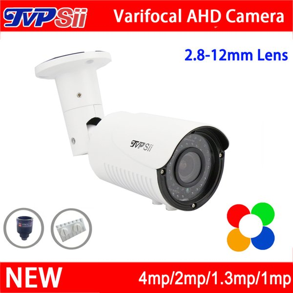 New Metal Case 42pcs infrared Leds 5mp/4mp/2mp/1.3mp/1mp 2.8mm-12mm Zoom Lens Varifocal AHD CCTV Security Camera Free Shipping