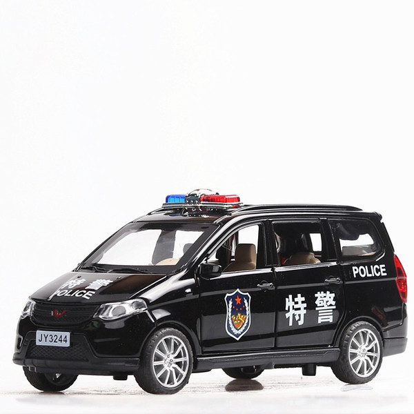 1:32 Toy Car Wuling Metal Toy Alloy Car Diecasts & Vehicles Model Miniature Scale Model For Children