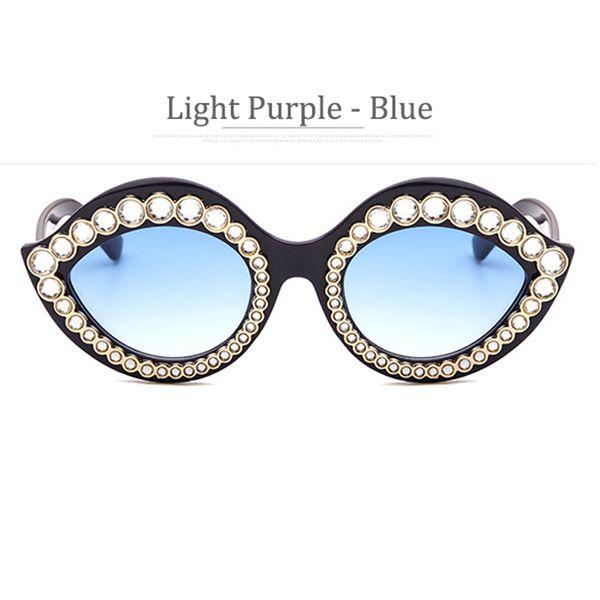 Viola Chiaro frame Blu Lens