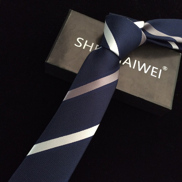 1200 Needles 6cm Mens Ties New Man Fashion Dot Neckties Corbatas Gravata Jacquard Slim Tie Business Green Tie For Men