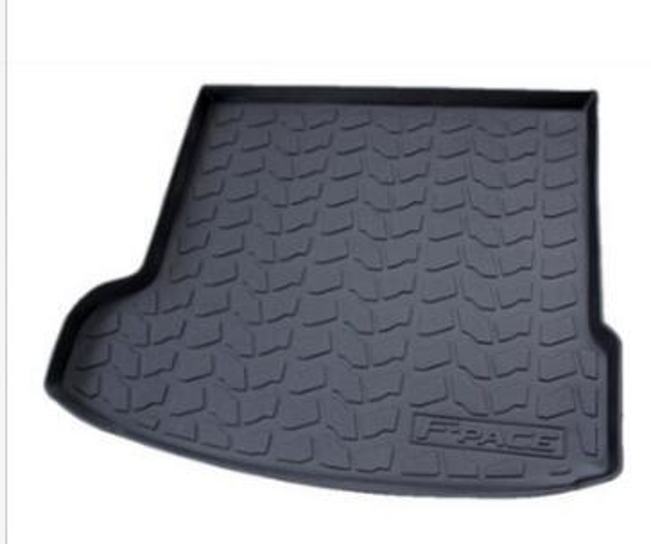 best selling Custom Jaguar F-Pace 2017-2018 Rubber Luggage Mats Cargo cushions Trunk mat