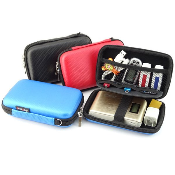 Portable Digital Accessories Travel Storage Bag For HDD Power Bank USB Flash Drive SD Card Earphone Phone Charger U disk GH016
