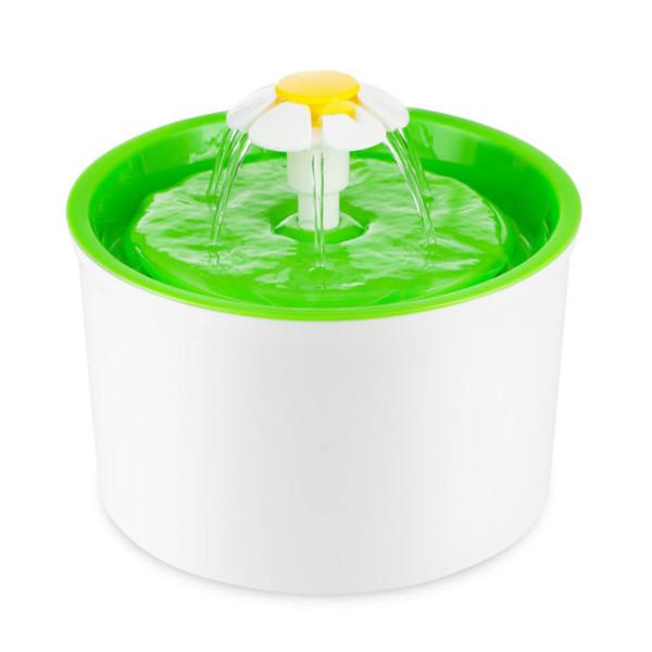 3 in 1 Otomatik Pet Otomatik İçme Çeşme Besleyici Su Kase Filtreli Dağıtıcı 1.6L Oto Kediler Su Besleyici İçki Kase