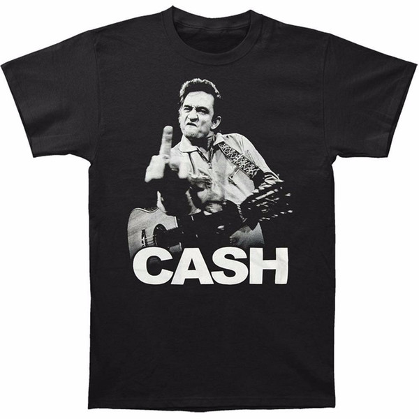 Johnny Cash Black T-Shirt Direct from Stockist