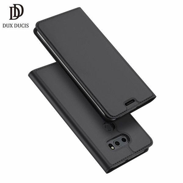 wholesale luxury for LG V30s ThinQ flip case Skin Pro Card Holder Stand Leather wallet case for LG V30s ThinQ wallet case