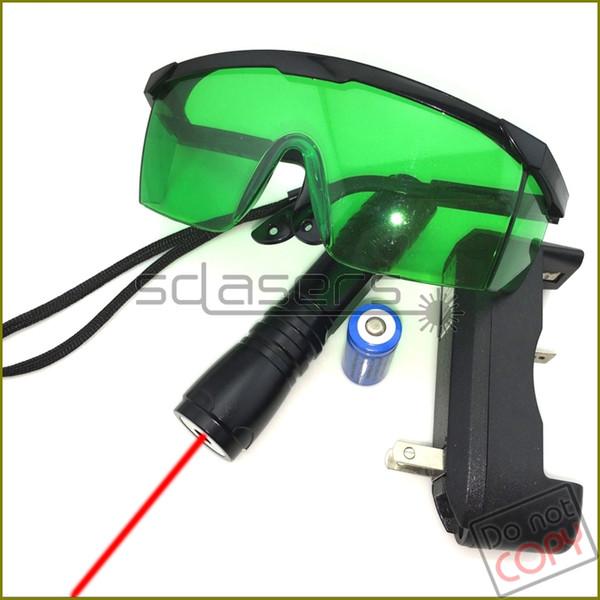 SDLasers S6BR Adjustable Focus 650nm Red Laser Pointer Laser Torch