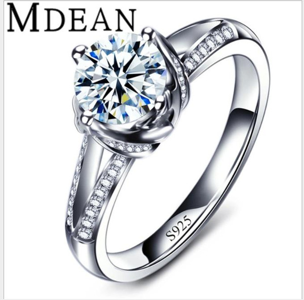 Fashion trends, jewelry, white gold, fashion jewelry, exquisite zircon rings.