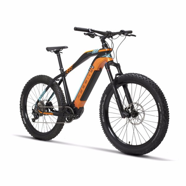NEW 27.5inch electric mountian bike 11speed 48V500w MID-motor pas bicycle Hydraulic Disc Brake ROCKSHOX electric ebike M8000