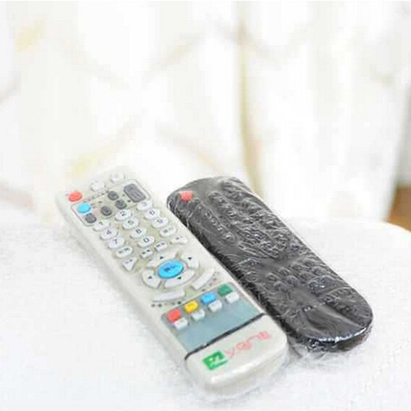 5PCS Remote Control Protector Cover Heat Shrink Protective Film TV Air-Conditioner Video Remote Control Dust Proof Waterproof