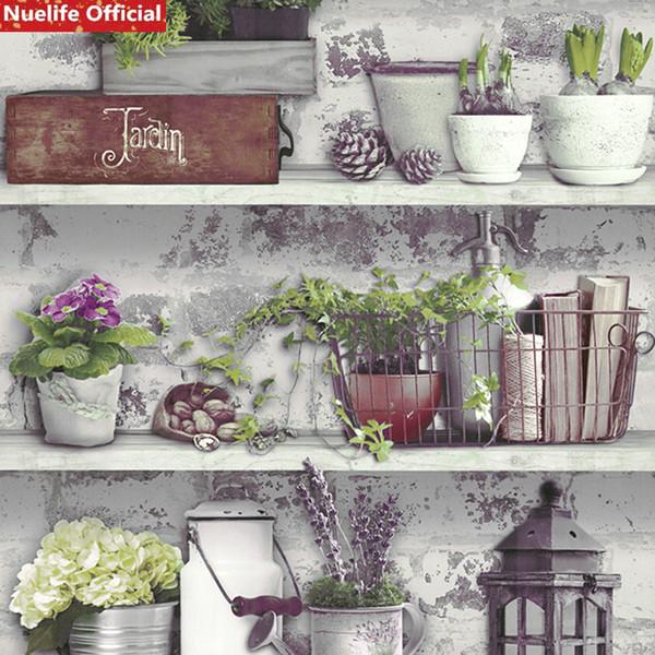 Korean Garden Pattern Wallpaper Bedroom Cafe Restaurant Hotel Beauty Salon Clothing Store Bistro TV Background Wall Paper