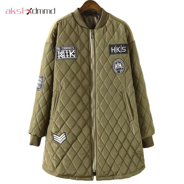 AKSLXDMMD Plus Size 100kg Women Winter Jacket 2017 New A-shaped Cotton Padded Jackets and Coats Loose Mujer Coat Parkas LH458 S18101505