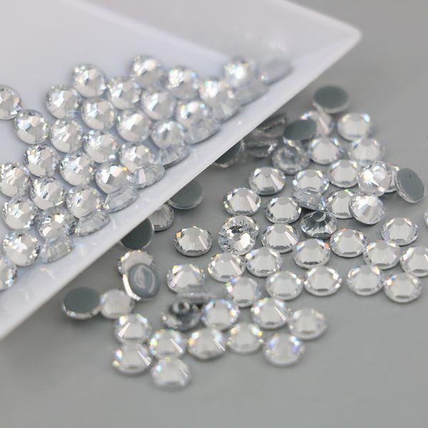 best selling Wholesale all Size Austrian Crystal HOTFIX Rhinestone 2028# Top Quality Flatback Hot Fix Rhinestones Xilion Rose(Crystal)