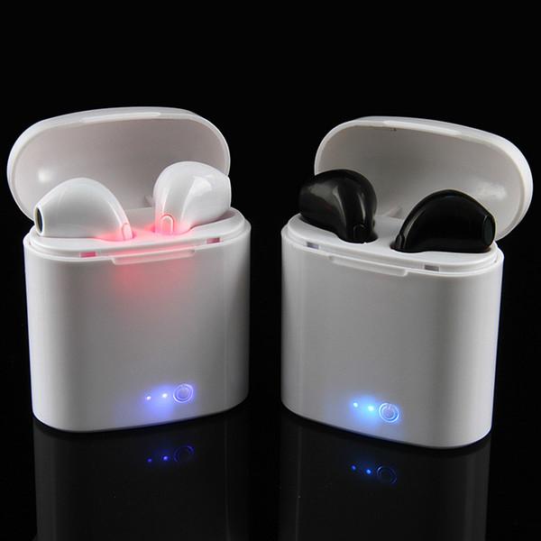 I7 i7 tw wirele head et in ear earphone bluetooth 4 2 earbud bluetooth headphone for iphone 6 7 8 plu x 8 Écouteur upercopy