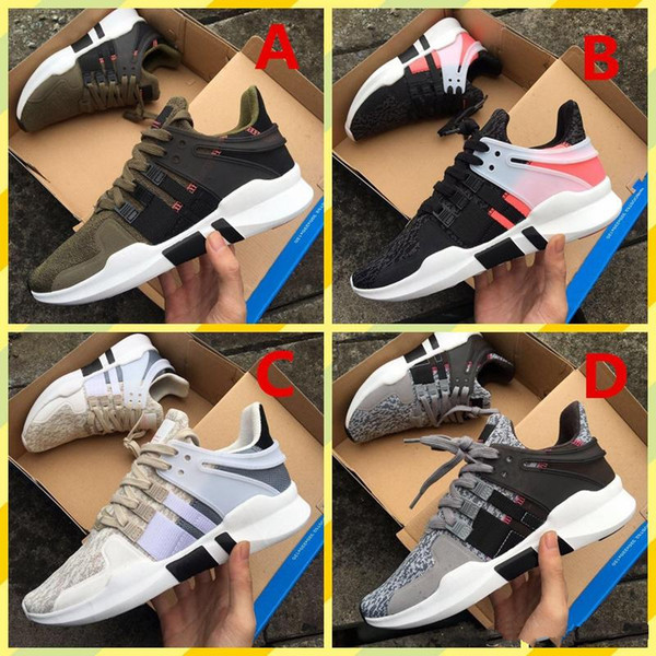 2018 Ultra Shoes EQT Support Future 93 Run Shoes White black pink Man women sports casual designer shoes Sneakers 36-45