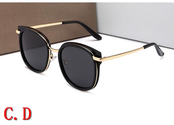 553c632c6a62c Novas mulheres de luxo homens marca designer de óculos de sol do vintage  28001 moda clara