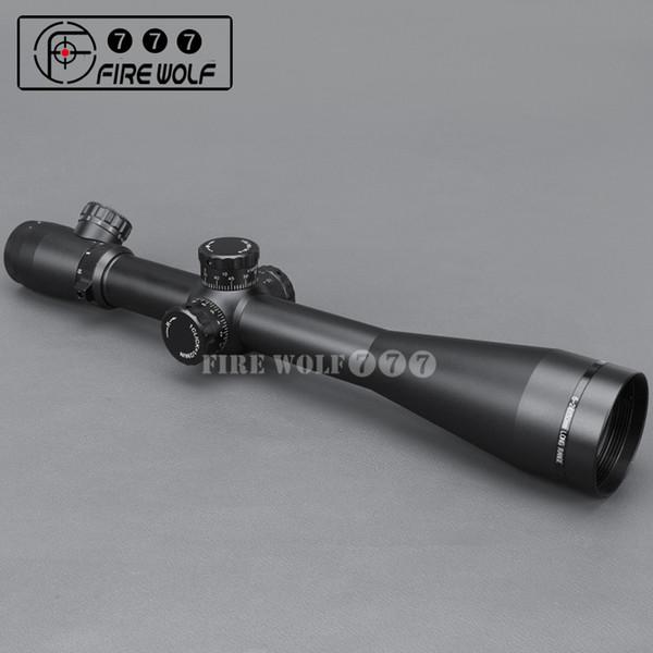 Großhandel M3 6-24X50 Taktische Optik Zielfernrohr RedGreen Dot Absehen Faser Anblick Zielfernrohr 30mm Rohr