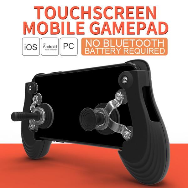 Voground New Gamepad Mobile Screen Screen + manette de jeu Gamepad + ventouse pour PUBG pour Fortnite Controller Mobile Phone