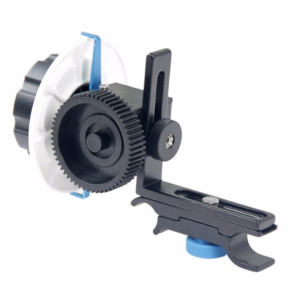 wholesale YLG0103F Follow Focus F0 with Adjustable Gear Ring Belt for Canon / Nikon / Video Cameras / DSLR Cameras
