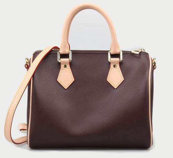 Hot luxe top qualité marque en cuir véritable femmes sacs à main célèbre Designer sac à bandoulière avec serrure et date code N40391 25 cm 30 cm 35 cm