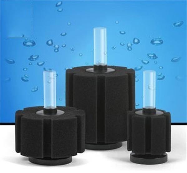 best selling Aquatic Organisms Practical Biochemical Cotton Filtration Aquarium Fish Tank Pond Sponge Filter Material Black Pure Color 8 5db3 bb