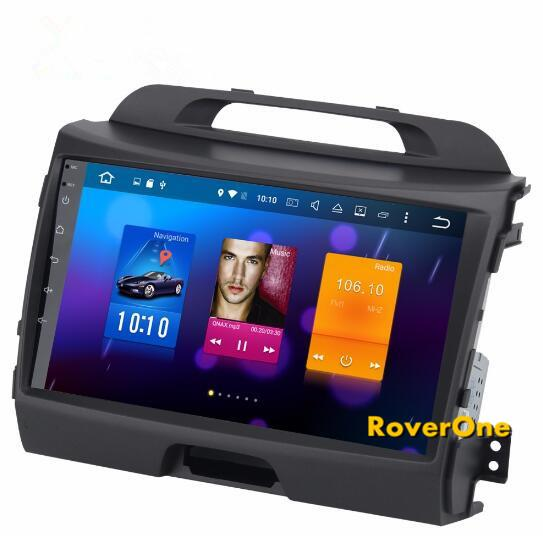 für Kia Sportage R 2011+ Android 8.0 Autoradio Bluetooth Auto GPS Navigation Radio Stereo Unterhaltung Multimedia Media System Head Unit