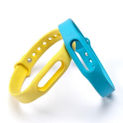 Новые часы ремешок Замена силиконовый ремешок браслет браслет для Ми полосы 1 1S