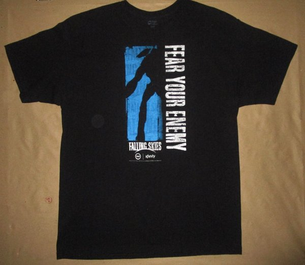 Miedo a tu enemigo camiseta Falling Skies TNT xfinity Película de terror manga corta más tamaño camiseta