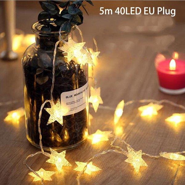 5m 40LED EU Plug S
