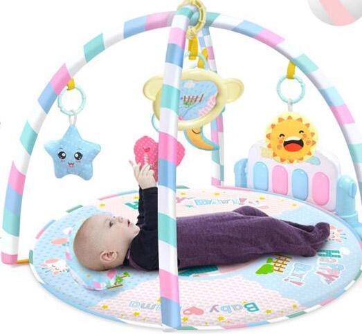Baby Piano Música Play Mats Baby Toys Activity Infant Kids Gym Rastreador de juegos Rack Baby en desarrollo Mat