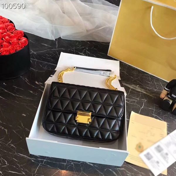 Famous brand luxury ladies plaid mini chain small bags women fashion shoulder bag crossbody high quality hot selling size:25x16cm