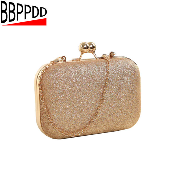 BBPPDD Evening Clutch Bags Evening Bag With Chain Shoulder Bag Women's Handbags Wallets Evening Bag For Wedding Party Y18110101