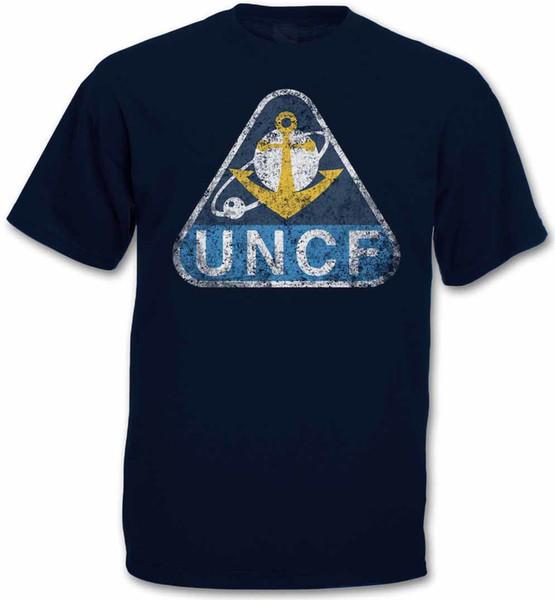 Организация Объединенных Наций COSMO военно-морского флота UNCF логотип футболка - космический линкор Ямато 2199 мода мужчины Майка Бесплатная доставка