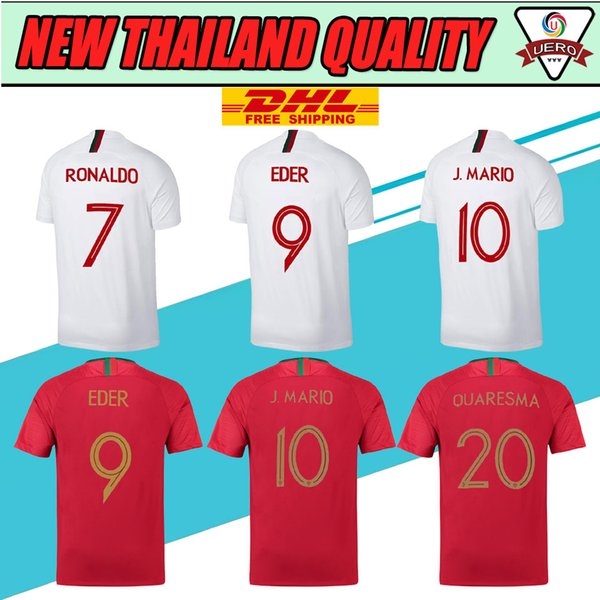 the latest 4f25d 10671 2017 Dhl Cr7 Cristiano Ronaldo 7 Portugal Soccer Jersey 2018 2019 World Cup  Jersey Quaresma Nani Football Kit Shirt 18 19 Camiseta From Eurosports, ...