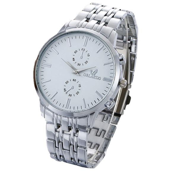 Splendid Retro Design Stainless Steel Quartz Wrist Watch Business Watches Men Top Brand Luxury Sport Digital Relogio Masculino