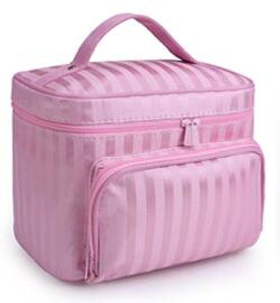 pink striped