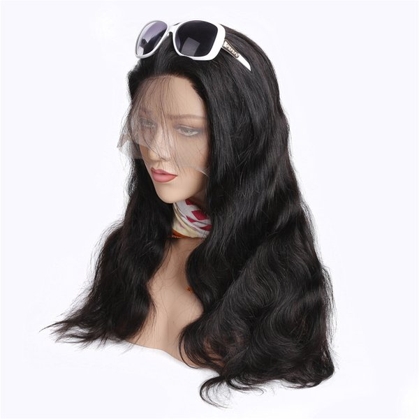 Lace Front Human Hair Wigs For Black Women 10-24 Body Wave Pre Plucked With Baby Hair Brazilian Remy Lace Frontal Wig