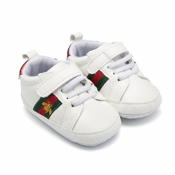 Retail 1 Pair Sport Baby Shoes Newborn Boys Girls First Walker Shoes Infant Prewalker Shoes 44C