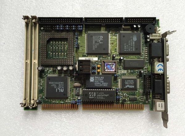 Industrial Motherboard SSC-5X86HVGA REV:1.8 PCB Main Board ISA Half-size Mainboard 100% Tested Working Well