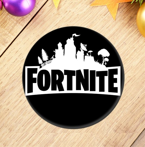 Fortnite Battle Royale Chest Badge Cosplay PVC Button Badges Pin Brooch  Backpack Accessories Party Gifts Toys MMA988 Favours For Weddings Favours