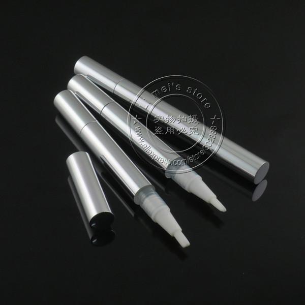 Free shipping Aluminium 2ml twist up pen empty package teeth whitening pen whitenting gel pen